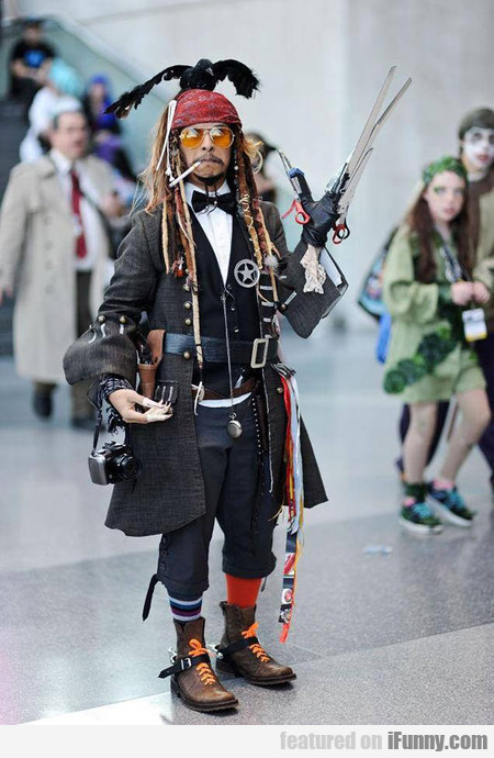 Every Johnny Depp In One Costume