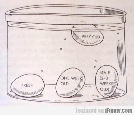 Useful Tip - How To Test The Age Of An Egg