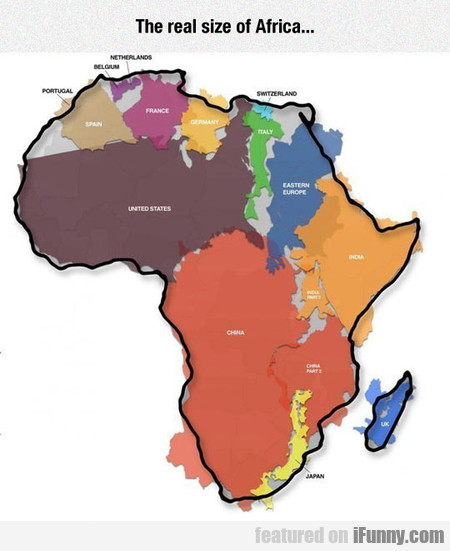 Africa Is Enormous