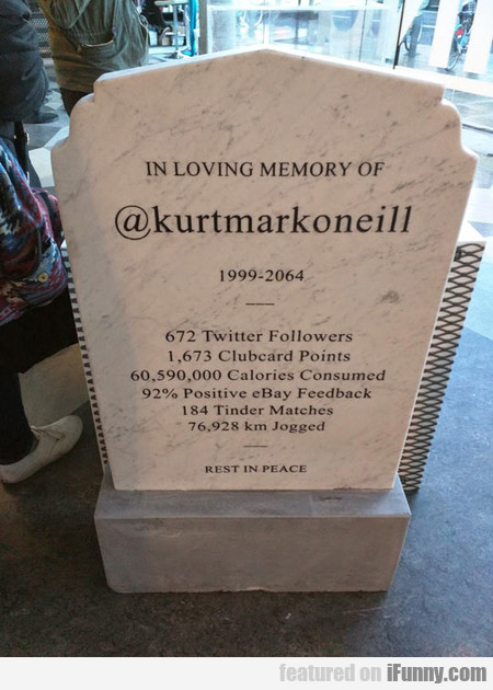 The Headstone Of The Future