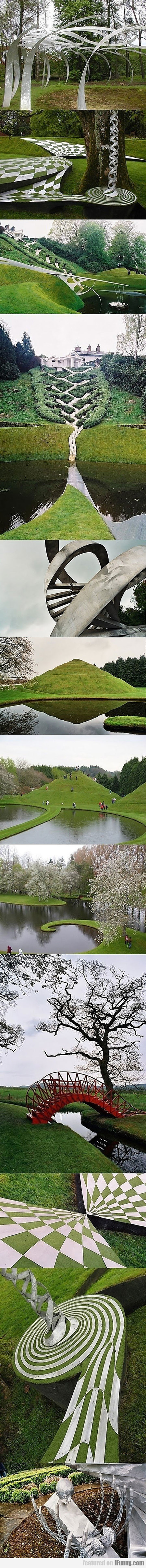 This Is The Garden Of Cosmic Speculation In Scotla