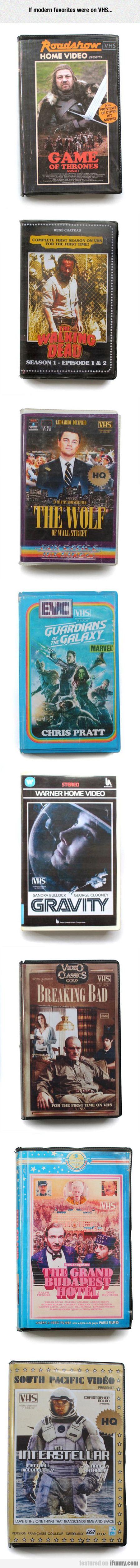 Modern Favorites On Epic Vhs