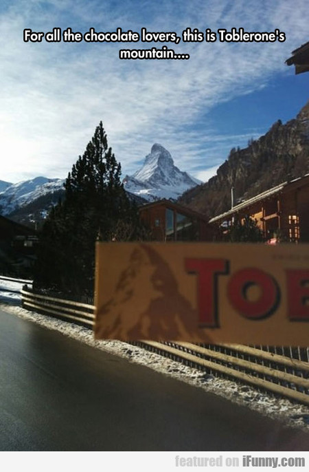 Toblerone Mountain