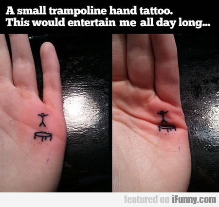 Trampoline Tattoo