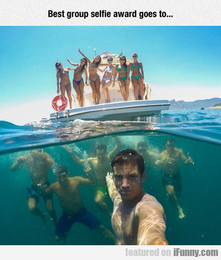 The Coolest Group Selfie Ever