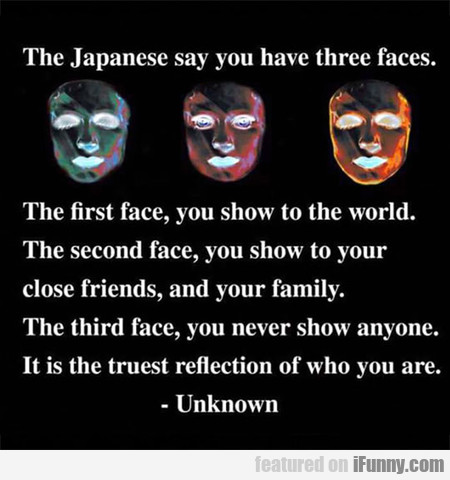 The Three Faces Of Life