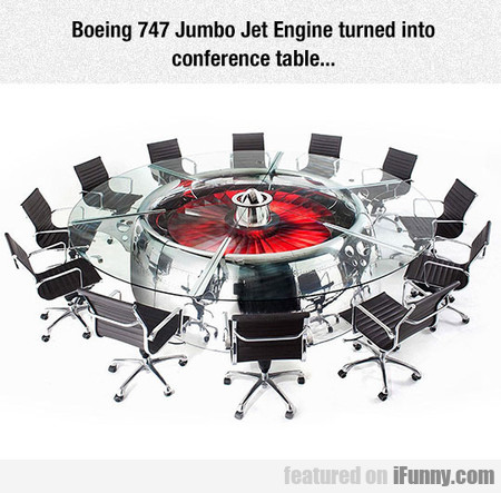 The Most Badass Conference Table