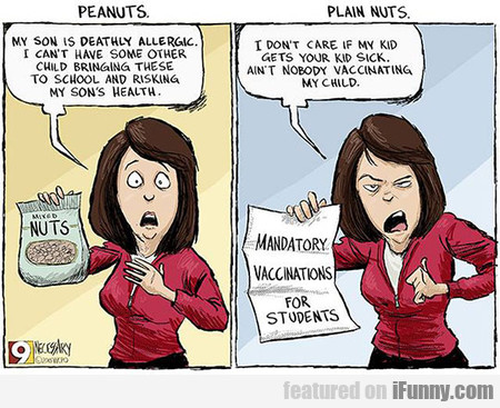 Peanuts And Plain Nuts