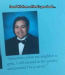 The Weirdest Yearbook Quote I've Ever Read