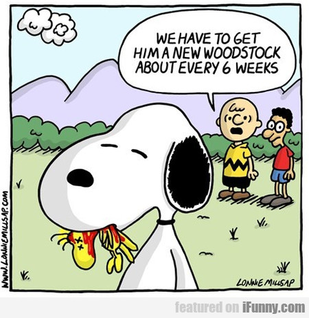 Snoopy's Dark Habit