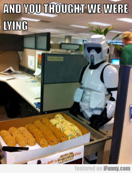 The Dark Side Does Have Cookies