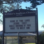 This Church Goes Straight To The Point