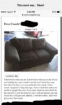 This Couch Was... Taken!