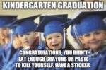 Kindergarten Graduation Day