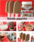Tasty Nutella Popsicles