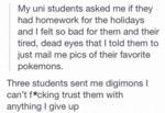 Teacher Tries To Be Supportive