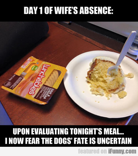 When The Wife Is Absent