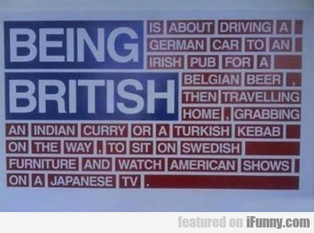What Being British Is All About