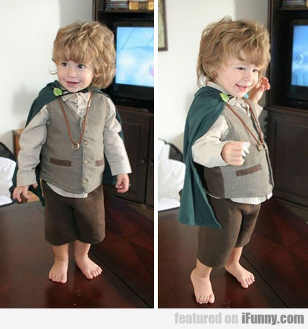 Little Frodo Is Adorable