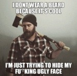 Why Some Guys Have Beards