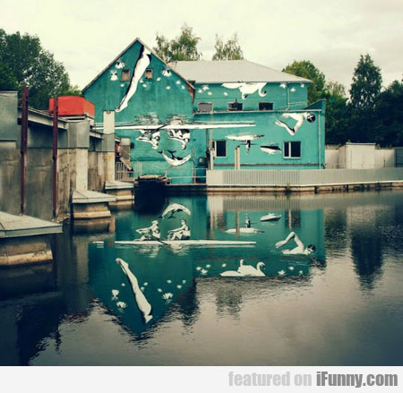 Water Reflection Art