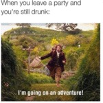 Leaving The Party