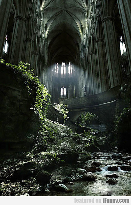 A Famous Abandoned Church In France