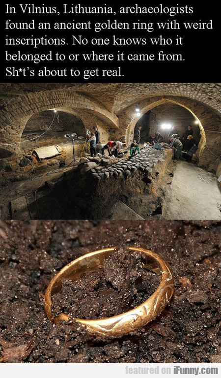 Ancient Golden Ring Found