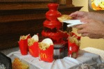 Awesome Ketchup Fountain
