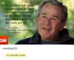 Is George Bush Even Real?