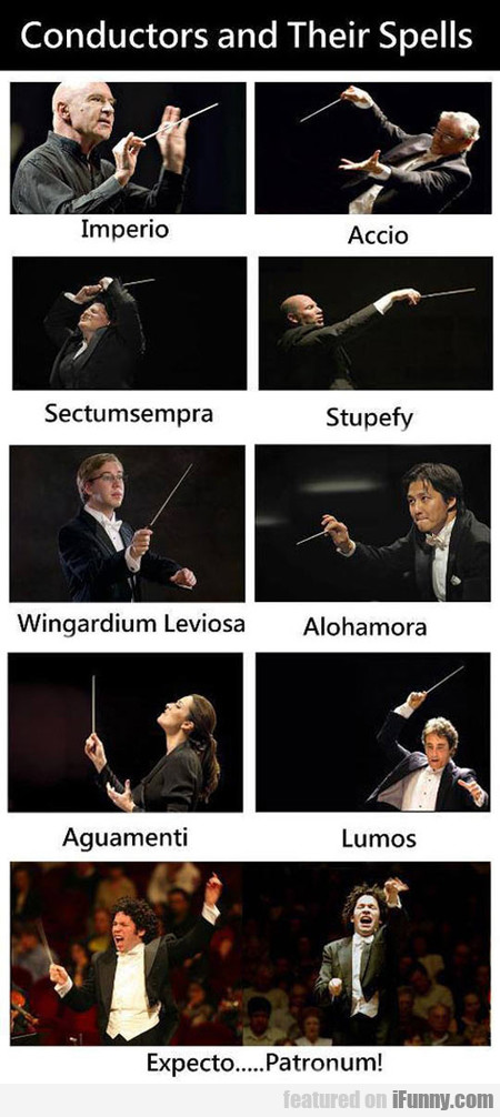 Music Conductors And Their Spells