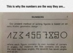 This Is Why Number Are The Way They Are