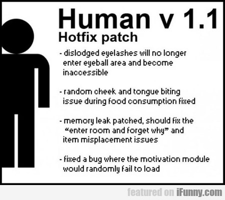 Human V 1.1 - Hotfix Patch