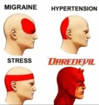 Migraine - Hypertension - Stress - Daredevil