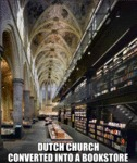 Dutch Church Converted Into A Bookstore
