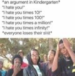 An Argument In Kindergarten