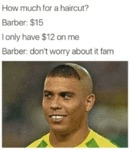 How Much For A Haircut?