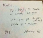 Katie - You Know I Have A Crush On You