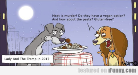 Meat is murder! Do they have a vegan option?