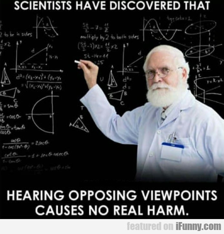 Scientists Have Discovered That Hearing Opposing..