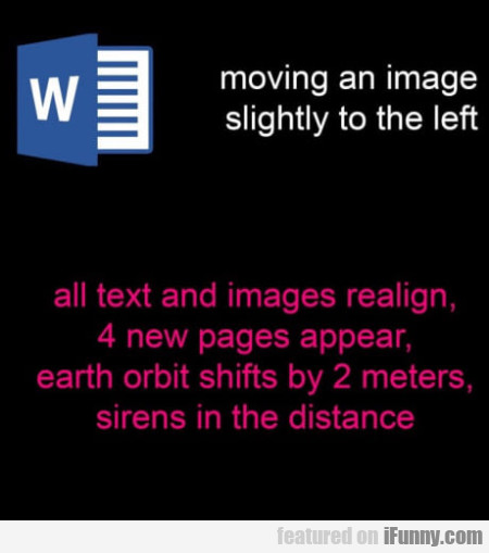 Moving An Image Slightly To The Left - All Text...