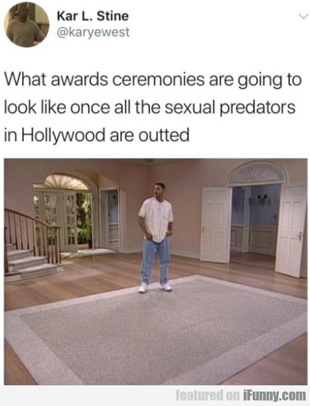 What Awards Ceremonies Are Going To Look Like...