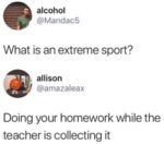 What Is An Extreme Sport? - Doing Your Homework..