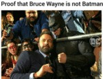 Proof That Bruce Wayne Is Not Batman