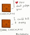 Chocolate - I Love You - I Don't Judge You