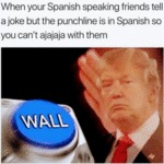 When Your Spanish Speaking Friends Tell A Joke...
