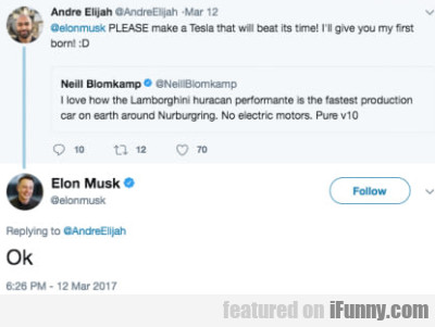 PLEASE make a Tesla that will beat its time!