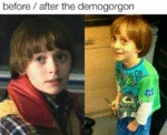 Before And After The Demogorgon