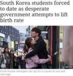 South Korea Students Forced To Date As Desperate..