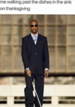 Me Walking Past The Dishes In The Sink On...